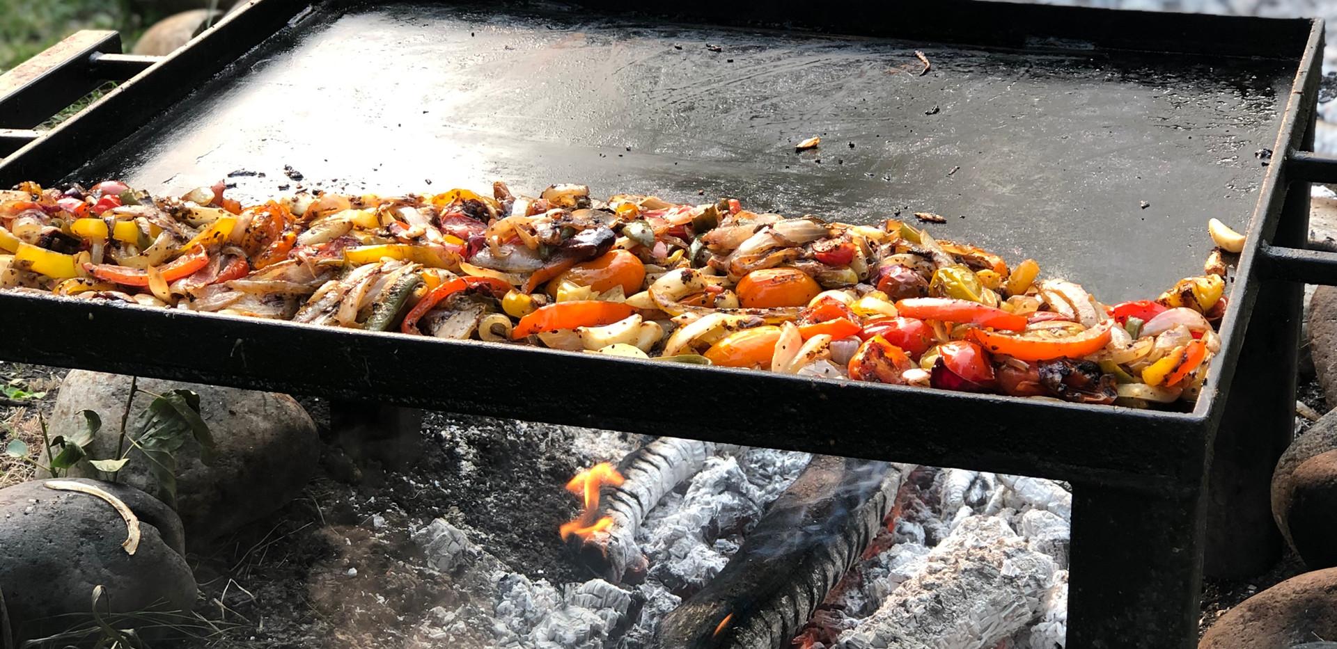 Garden Table cooking Bodhi Farms.jpg