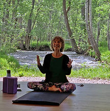 Teaching Yoga in TiPi at Bodhi Farms 500
