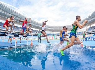 Salto sobre a água