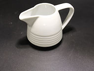 Milk jug Focus design Porcelite