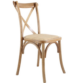 Our Oak Cross-back Chairs