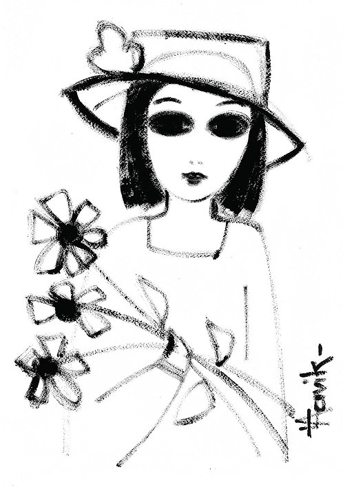Black Eyed Flowers