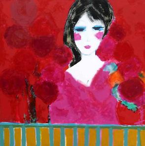 Girl painting by Aavik Art, Eumundi