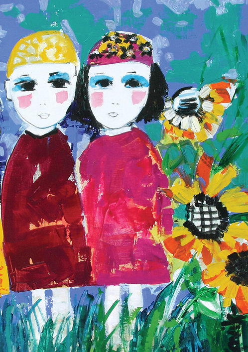 Amongst the Sunflowers
