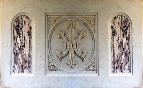 Panel - Marble, Marian Joseph