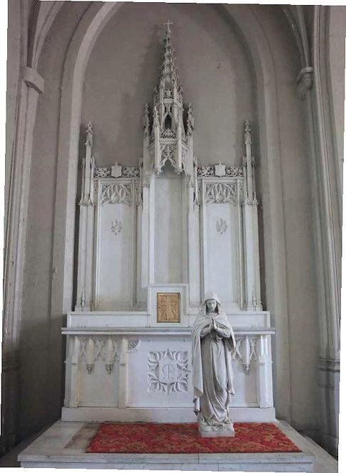 Altar - Blessed Mother Side Altar