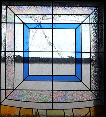 Stained Glass Window - Patterned