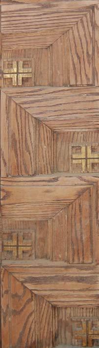 Wood Carving - Communion Rail