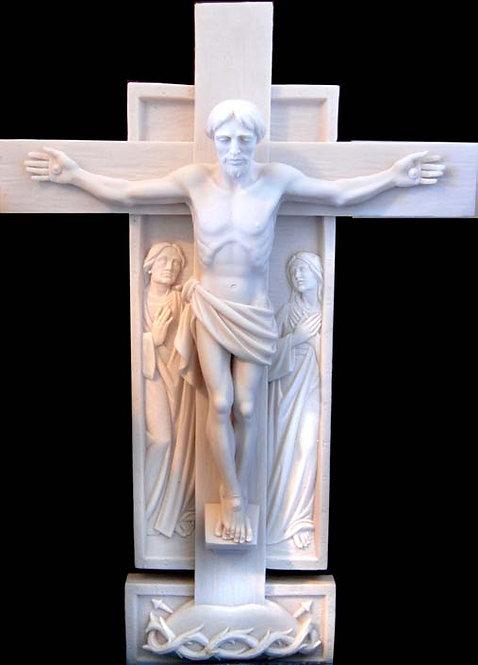Crucifix - Cast Stone Finish