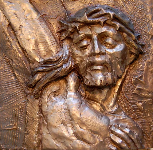 Sculpture Relief Model - Bronze Detail Sample
