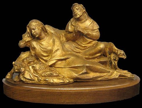 Sculpture - Bronze Nativity Set