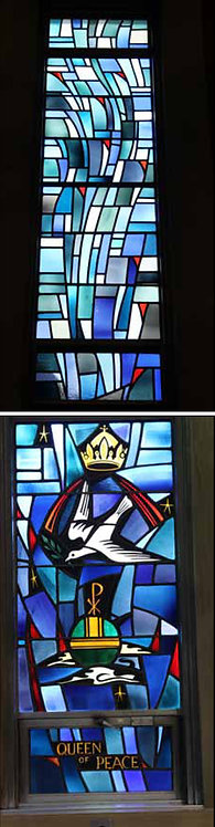 Stained Glass Window Set - Our Lady