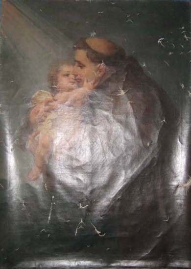 Painting - St. Anthony and Child