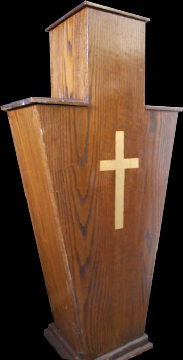 Pedestal - Wood