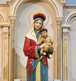 Our Lady of China statue