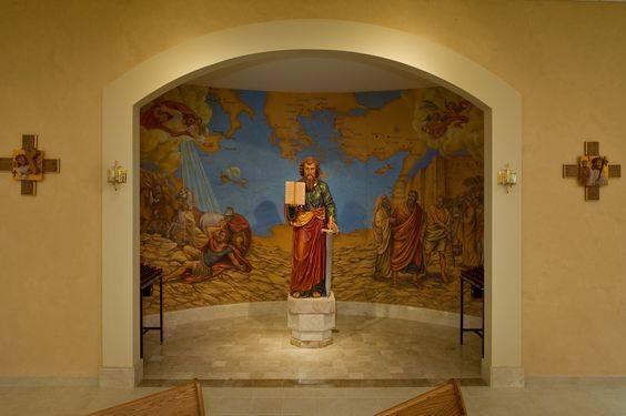 Life of St. Paul mural