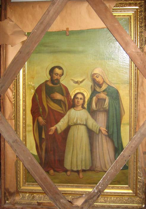 Painting Set - Holy Family