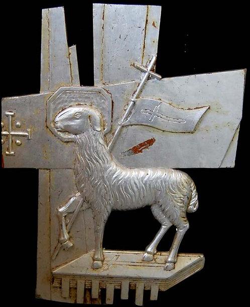 Wood Carving - Lamb of God