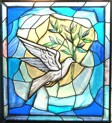 Stained Glass Window - Dove