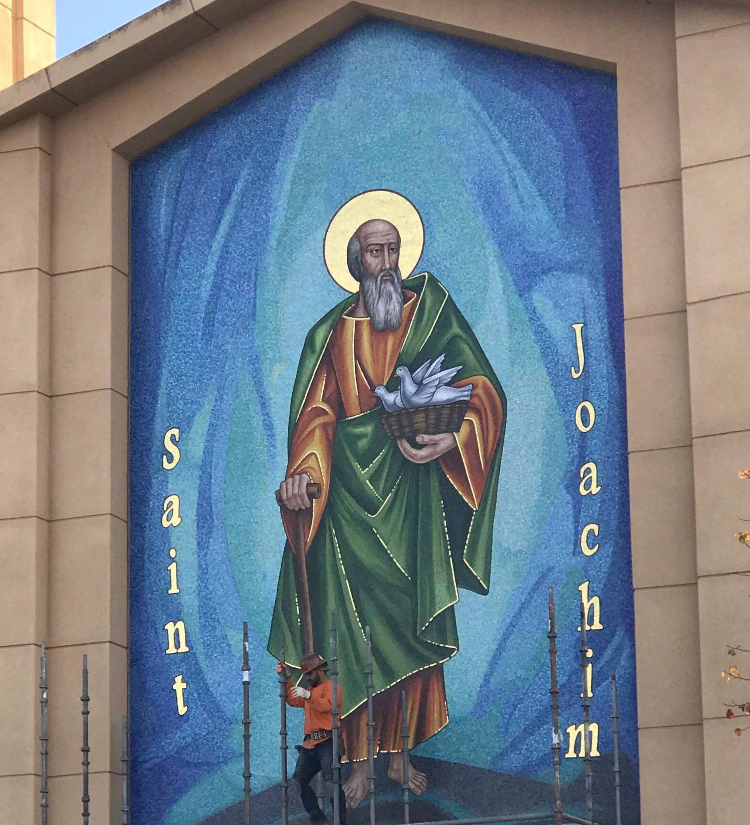 St. Joachim exterior mosaic
