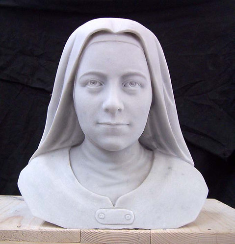 Sculpture - St. Therese Bust