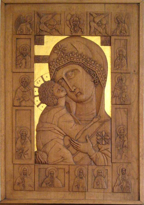 Wood Carving - Mary