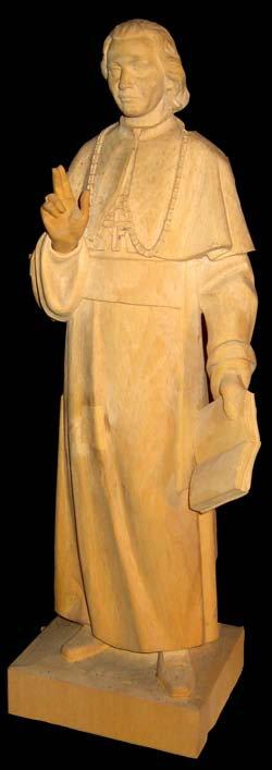 Statue - Bishop Carol