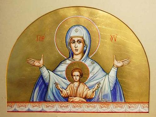 Painting - Theotokos