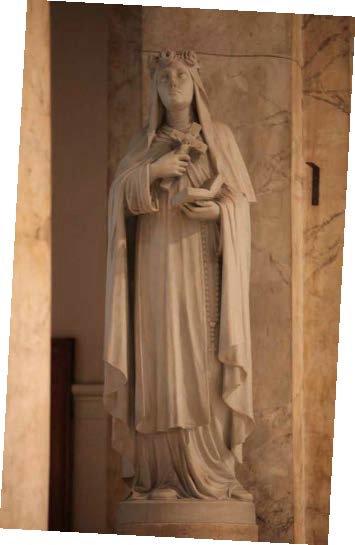 Statue - Saint Rose of Lima