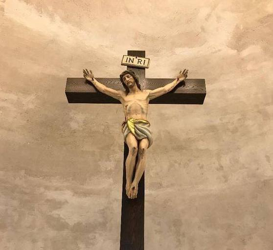 Roman-style crucifix