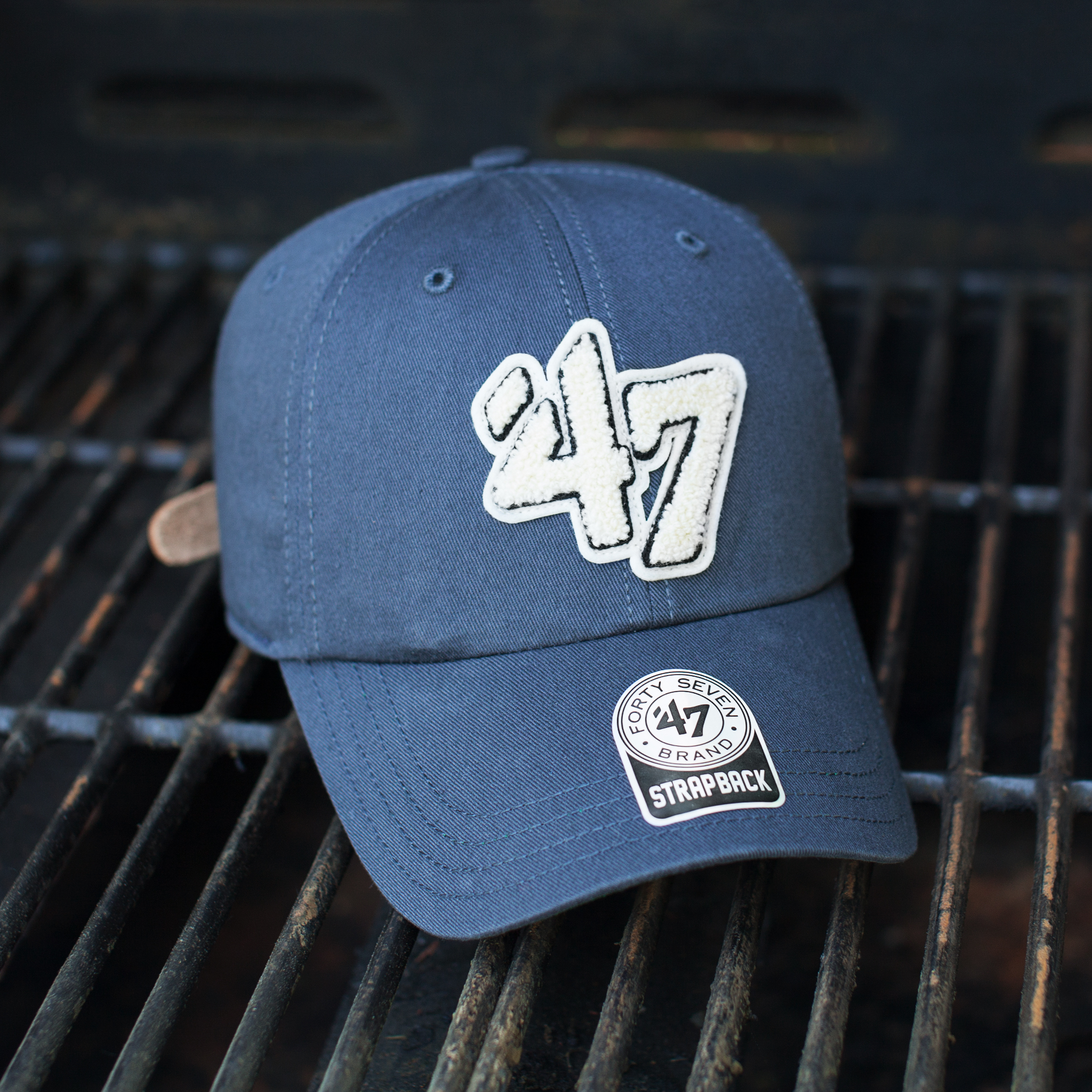 47 Leather Strapback - Father's Day