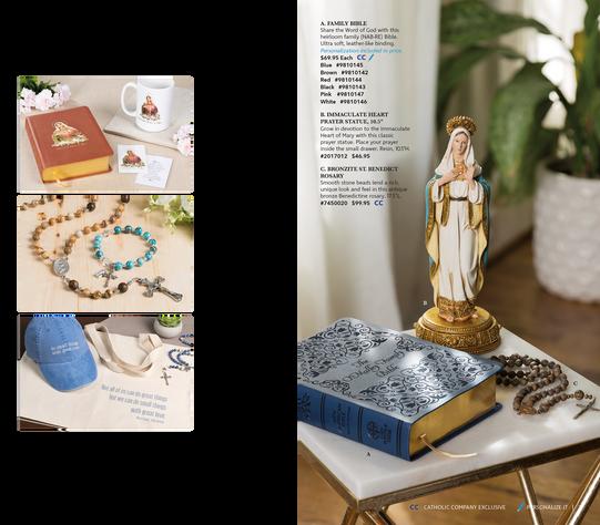 The Catholic Company | August 2018 Catalog Spread