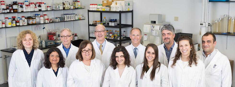 TetraGenetics - Group in White Coats