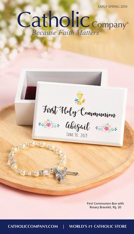 The Catholic Company Catalog Cover | March 2019