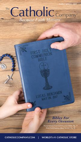 The Catholic Company Catalog Cover | March 2017