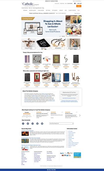 Original Catholic Company Website