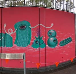 'Radelaide' Mural