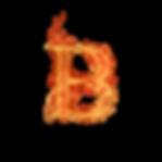 B_letra_de_fuego_diseñoscreativos.com.pn