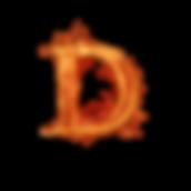 D_letra_de_fuego_diseñoscreativos.com.pn