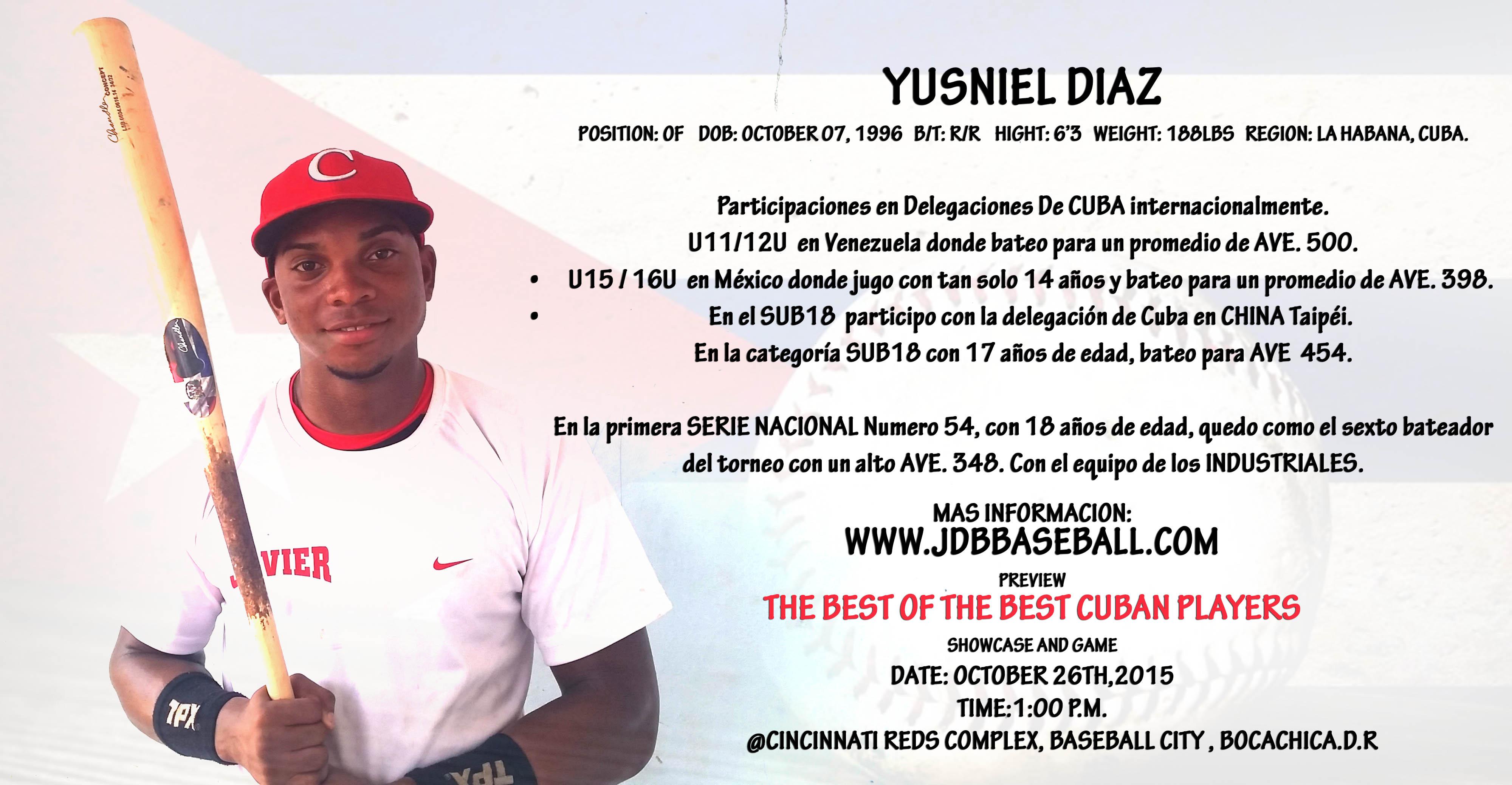 Yusniel Diaz