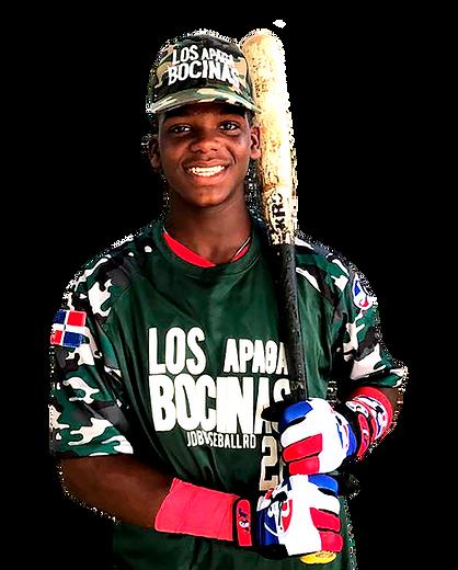 LOS BAUTY Emilio Sanchez SS 2023 Class From Los Bautys Baseball Academy.png