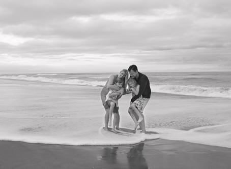 Melbourne Beach Family Photoshoot