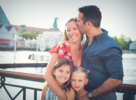 Disney Boardwalk Family Photo Session