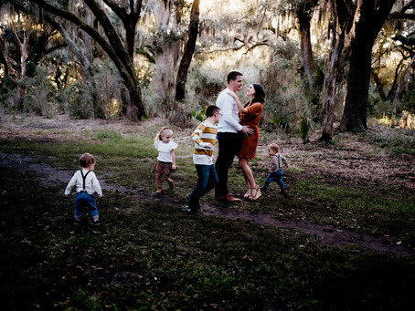 Space Coast Family Photographer - Mossy Location for a Totally Unique Experience