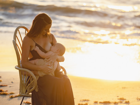 Celebrating National Breastfeeding Month - August 2020
