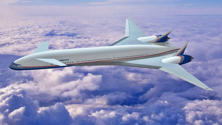 Boeing Sonic Cruiser, development aircraft ahead of Dreamliner was a delta-wing with cannard configuration!