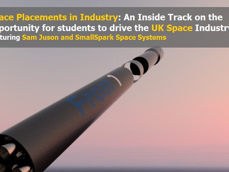 Space Placements in Industry: An Inside Track