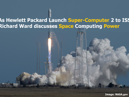 Richard Ward on Importance of Computing in Space