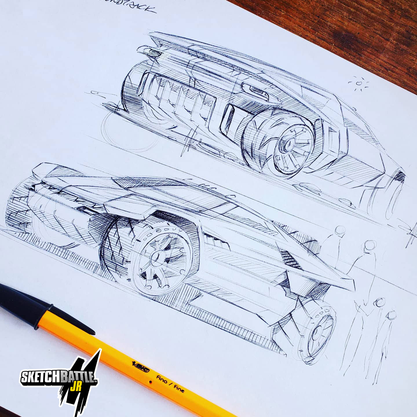 Car Sketching Online Class - 3 Hours