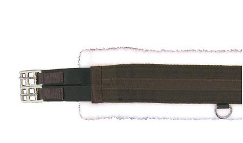 Fleece Lined Girth with Double Elastics